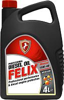 Моторное масло FELIX CF-4/SG Diesel 15W40 / 430800012 (4л) -