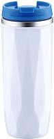 Термокружка Peterhof Vacuum Travel Mug PH-12424 (белый/синий) -