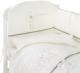 Комплект постельный в кроватку Perina Le Petit Bebe / ПБ4-01.1 (молочный/оливковый) -