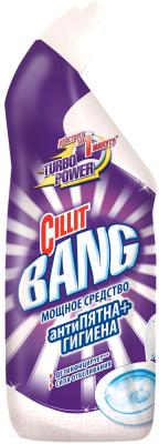 Чистящее средство для унитаза, 2 шт. Cillit Bang Антипятна+гигиена. Сила отбеливания