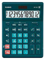 Калькулятор Casio GR-12C-DG-W-EP (темно-зеленый) -