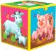 Развивающая игрушка Азбукварик Говорящий кубик. В гостях на ферме -