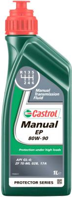 Трансмиссионное масло Castrol Manual EP 80W90 / 154F6D (1л)