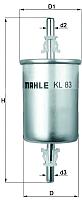 Топливный фильтр Knecht/Mahle KL83 -