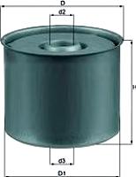 Топливный фильтр Knecht/Mahle KX23D -