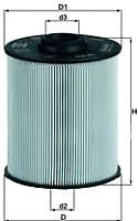 Топливный фильтр Knecht/Mahle KX70D -
