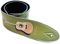 Ремень для гитары Kavaborg SPL-D-8S-50 (зеленый) -