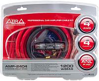 Набор для подключения автоакустики AURA AMP-2404 -