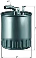 Топливный фильтр Knecht/Mahle KL100/2 -