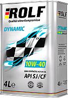 Моторное масло Rolf Dynamic SAE 10W40 / 322230 (4л) -
