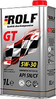 Моторное масло Rolf GT SAE 5W30 / 322233 (1л) -
