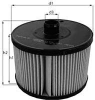Топливный фильтр Knecht/Mahle KX201D -