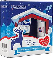 Набор косметики для лица и тела Neutrogena Норвежская формула крем для рук с запахом 50мл + бальзам 4.8г -