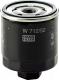 Масляный фильтр Mann-Filter W712/52 -