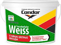 Краска CONDOR Fassadenfarbe Weiss (1.5кг) -