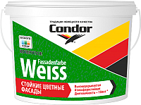 Краска CONDOR Fassadenfarbe Weiss (15кг) -
