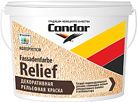 Краска CONDOR Fassadenfarbe Relief (15кг) -