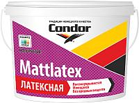 Краска CONDOR Mattlatex (1.5кг, белый) -