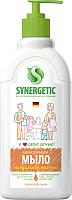 Мыло жидкое Synergetic биоразлагаемое. Миндальное молочко (0.5л) -