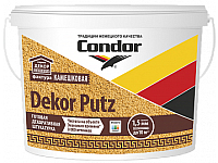 Штукатурка CONDOR Dekor Putz камешковая 2.5мм (25кг, белый) -