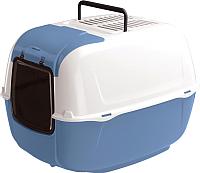 Туалет-домик Ferplast Prima Cabrio / 72053899 (голубой) -