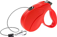 Поводок-рулетка Ferplast Amigo Easy / 75741622 (L, красный) -