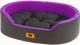 Лежанка для животных Ferplast Dandy 55 / 82942099 (черный/фиолетовый) -
