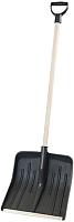 Лопата для уборки снега Berossi Люкс ЛС 00105000 (черный) -
