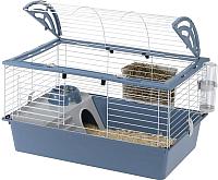 Клетка для грызунов Ferplast Casita 80 / 57065170 (синий) -