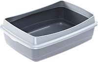 Туалет-лоток Ferplast Nip Plus 10 / 72041099 (серый) -