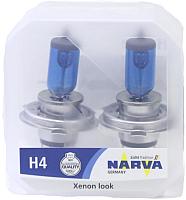 Комплект автомобильных ламп Narva H4 48680RPW -