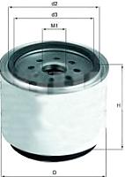 Топливный фильтр Knecht/Mahle KC220D -
