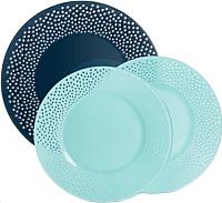 Набор тарелок Luminarc Bulla N0495 (18шт) -