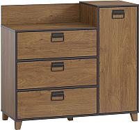 Комод Woodcraft Эссен 3990 (дуб кендал коньяк) -