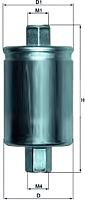 Топливный фильтр Knecht/Mahle KL182 -