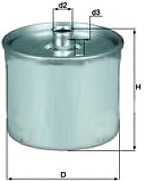 Топливный фильтр Knecht/Mahle KL468 -