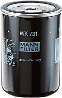 Топливный фильтр Mann-Filter WK731 -