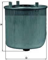 Топливный фильтр Knecht/Mahle KL780 -