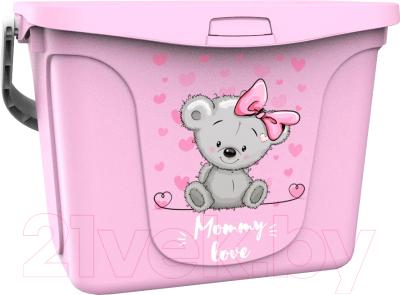 Контейнер для хранения Berossi Mommy love АС 48763000 (розовый)