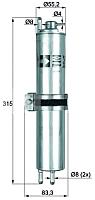 Топливный фильтр Knecht/Mahle KLH12 -