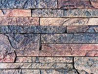 Декоративный камень Polinka Сланец Карпатский коричневый 1404 (395x95x16-20) -