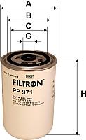 Топливный фильтр Filtron PP971 -