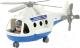 Вертолет игрушечный Полесье Альфа / 72405 (в сеточке) -