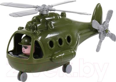 Вертолет игрушечный Полесье Альфа военный / 72436