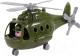 Вертолет игрушечный Полесье Альфа военный / 72436 (в сеточке) -
