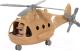 Вертолет игрушечный Полесье Альфа-Сафари военный / 72467 (в сеточке) -