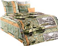 Комплект постельного белья Моё бельё Танк 2 -