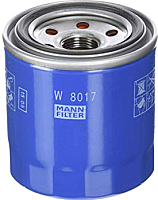 Масляный фильтр Mann-Filter W8017 -