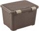 Корзина Curver Style 00711-210-00 / 210279 (темно-коричневый) -