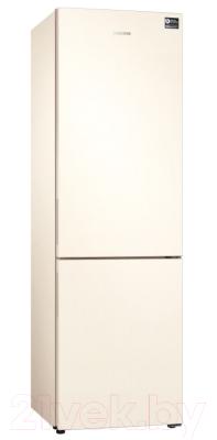 Холодильник с морозильником Samsung RB34N5000EF/WT